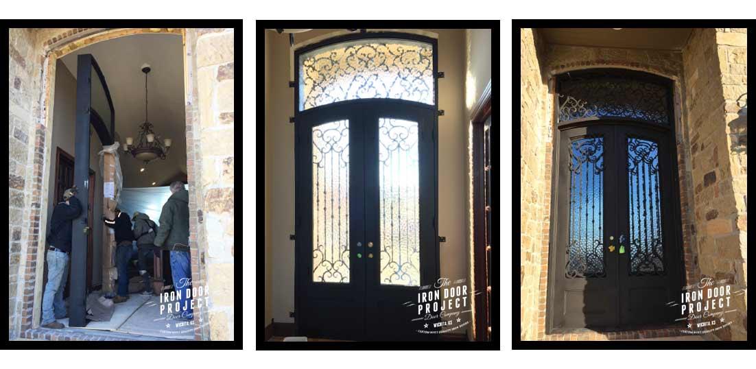 Custom Iron Doors Wrought Iron Wichita Kansas