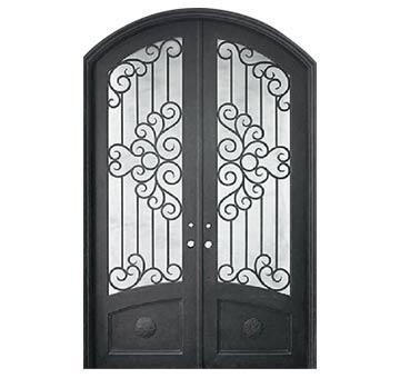 double iron doors  sc 1 st  The Iron Door Project & Custom Iron Garage Doors Wichita KS Premium Quality Garage Doors pezcame.com